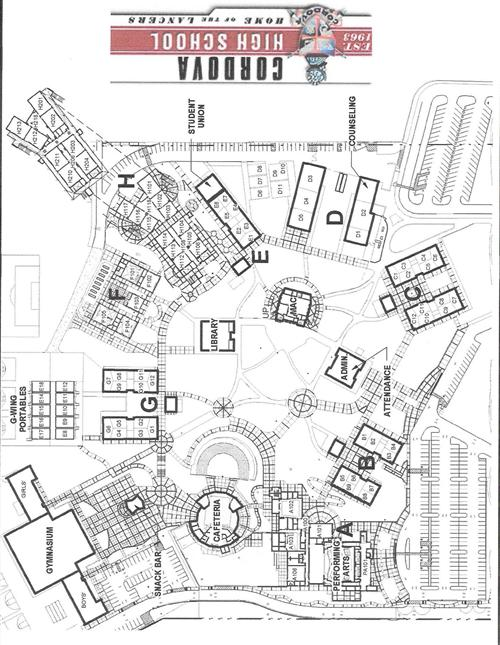 Campus Map / Map of Campus
