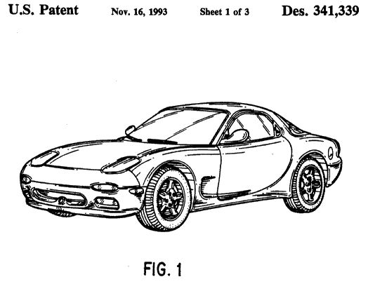 how to draw : mazda rx7