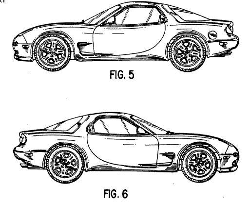 Mazda RX-7 Patent