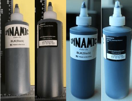 Dynamic Color Ink