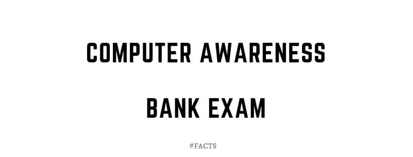 computer awareness for bank exam