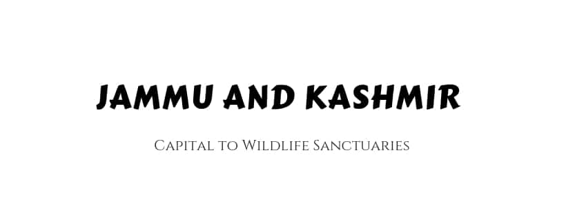 Gk Jammu Kashmir PDF