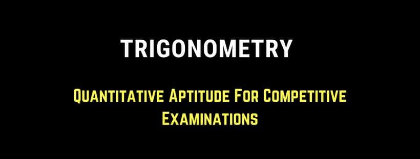 Trigonometry All Formulas