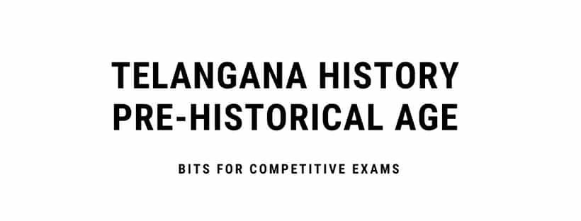 Pre Historical Age Telangana