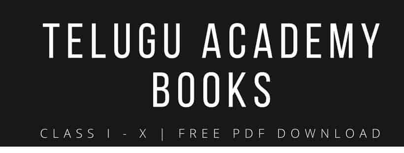 Telugu Academy Books For Tspsc Telugu Academy Books Online Pdf