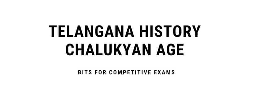 Chalukya dynasty gk gs telangana History bits