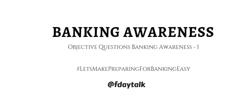 banking awareness questions and answers
