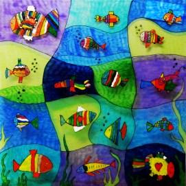 Kunstwerk 2 der Klasse 1b
