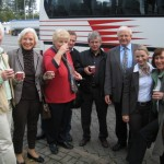 in Besuch im Landtag