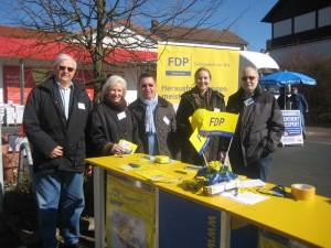 in Auch für die Liberalen in Fuldatal hat der Wahlkampf zur anstehenden Kommunalwahl an Fahrt aufgenommen