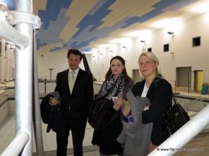 v.l.n.r.: Jörg Müller (Ortsvorsitzender der FDP), Uta Hemman (Beisitzerin im Ortsvorstand der CDU) und Susann Guber (Vorsitzende der örtlichen FDP-Fraktion)