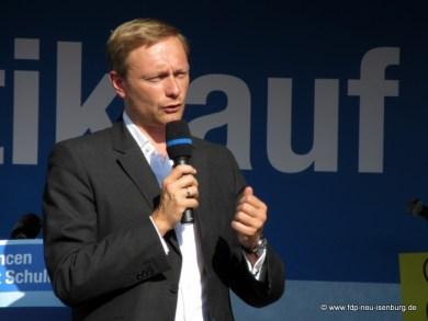 Christian Lindner, FDP Vorsitzender