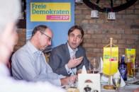 Bildmitte: Andreas Frache, ehrenamtlicher Stadtrat.