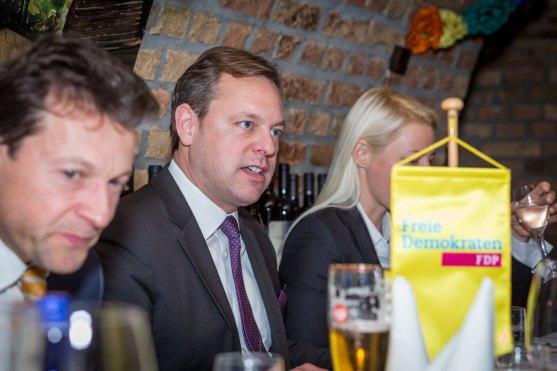 Thilo Seipel, Fraktionsvorsitzender der FDP in der Stadtverordnetenversammlung.