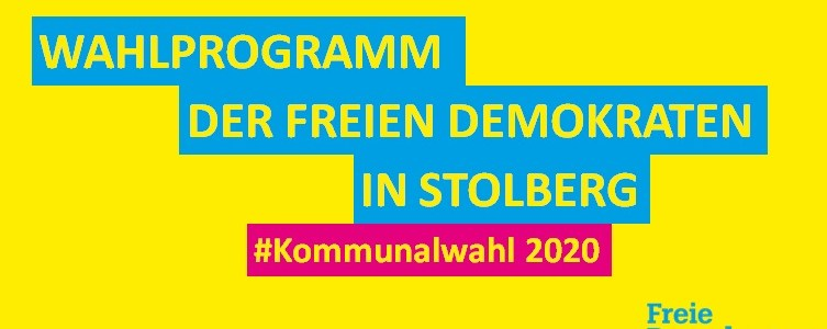 Wahlprogramm FDP Stolberg