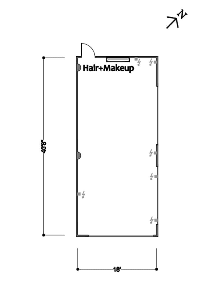 FD Studios - Stage A Floor Plan