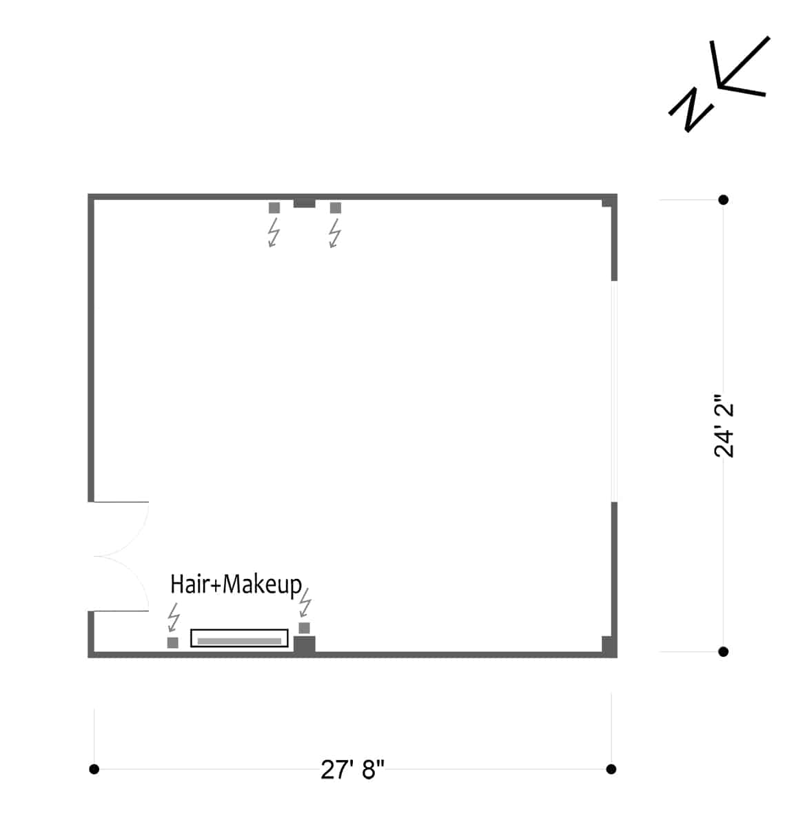 FD Studios - Hill 5 - Floor plan
