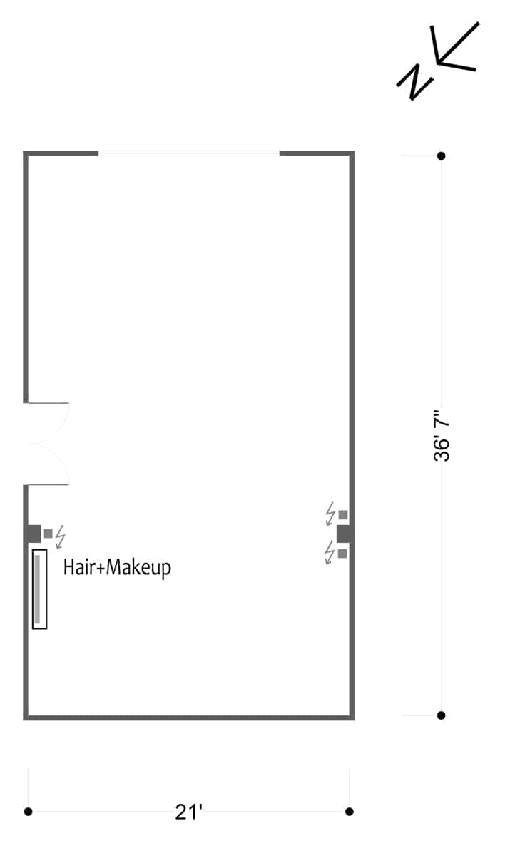FD Studios - Hill 8 - floor plan
