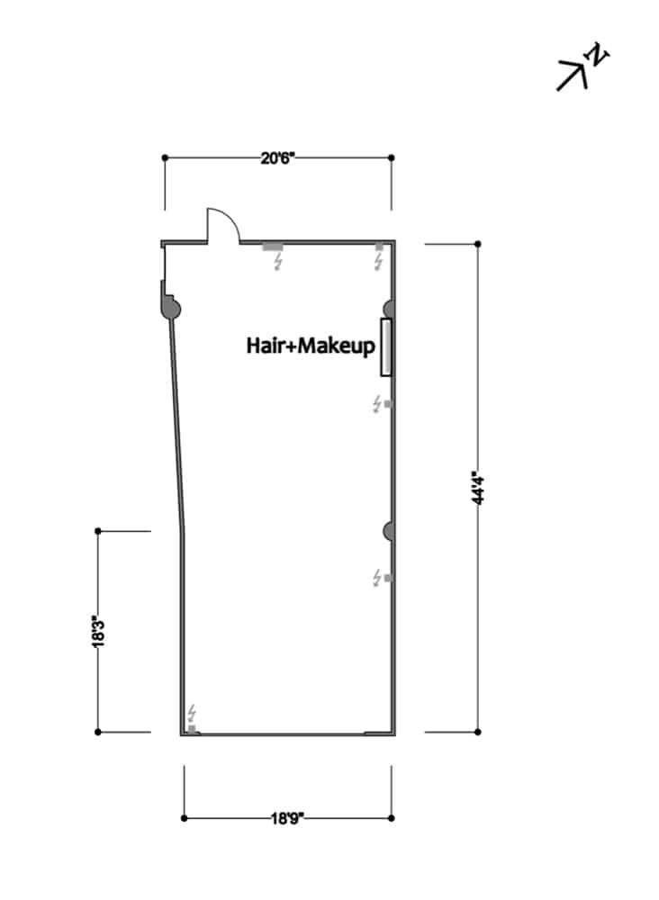 FD Studios - Stage B Floorplan