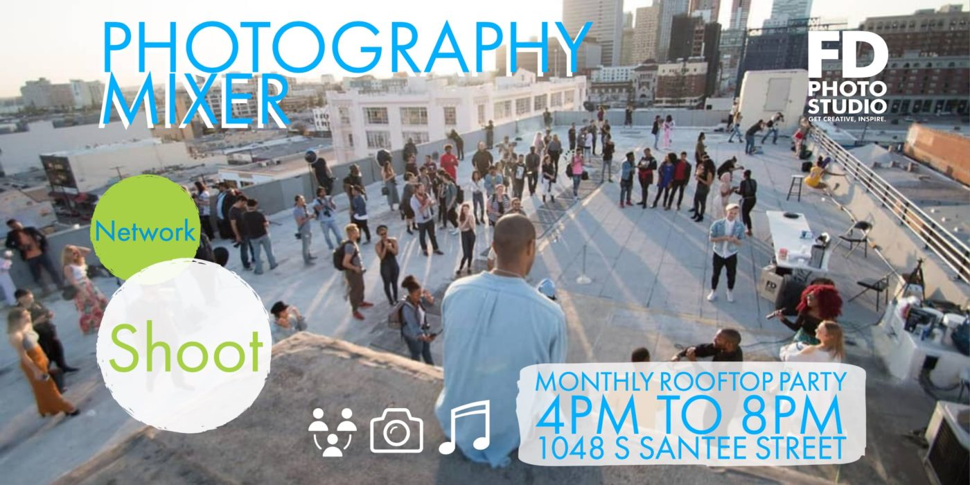 Monthly Fd PhotoStudio Rooftop Photography Mixer Meet-up