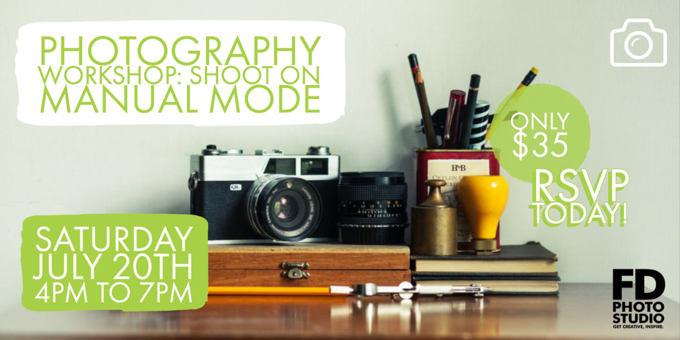 ✨ Learn how to Shoot on Manual Mode ✨ -Workshop, photography, Model, manual mode, Class, beginner