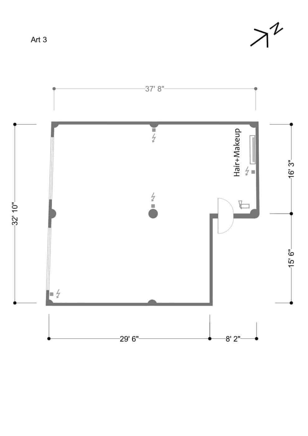 Art 3 floor plan - updated March 2019