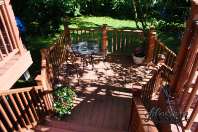Lifespan Steel Framed Deck - Landing