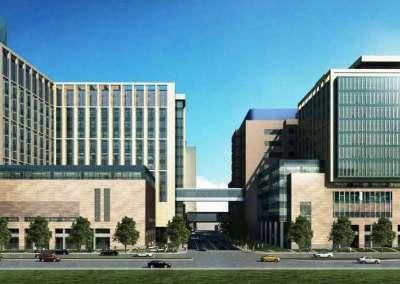 Washington University Medical Center Campus Renewal, BJH North Building & SLCH Expansion