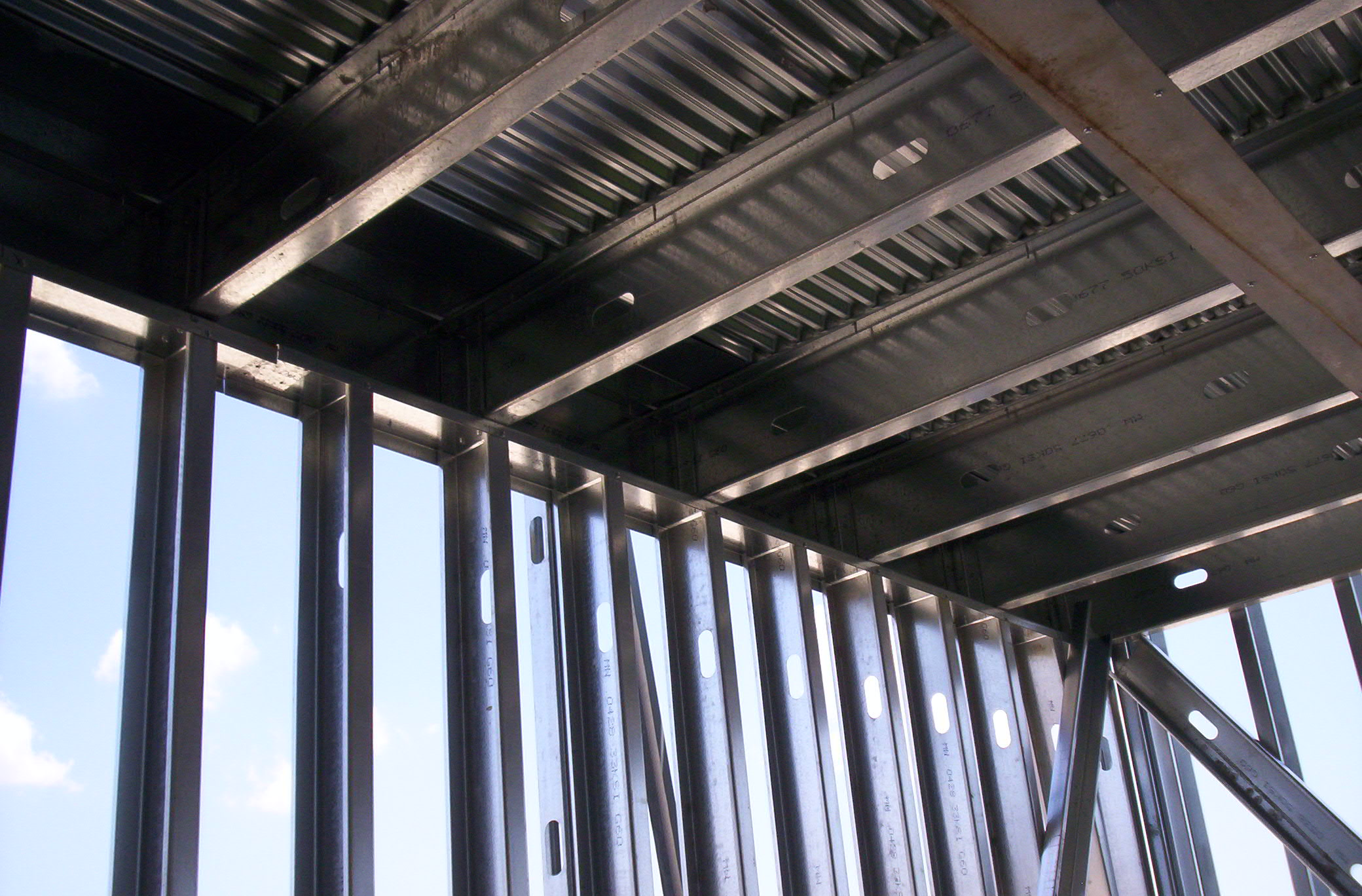 Non structural design considerations for cfs floor joist for Structural floor joists