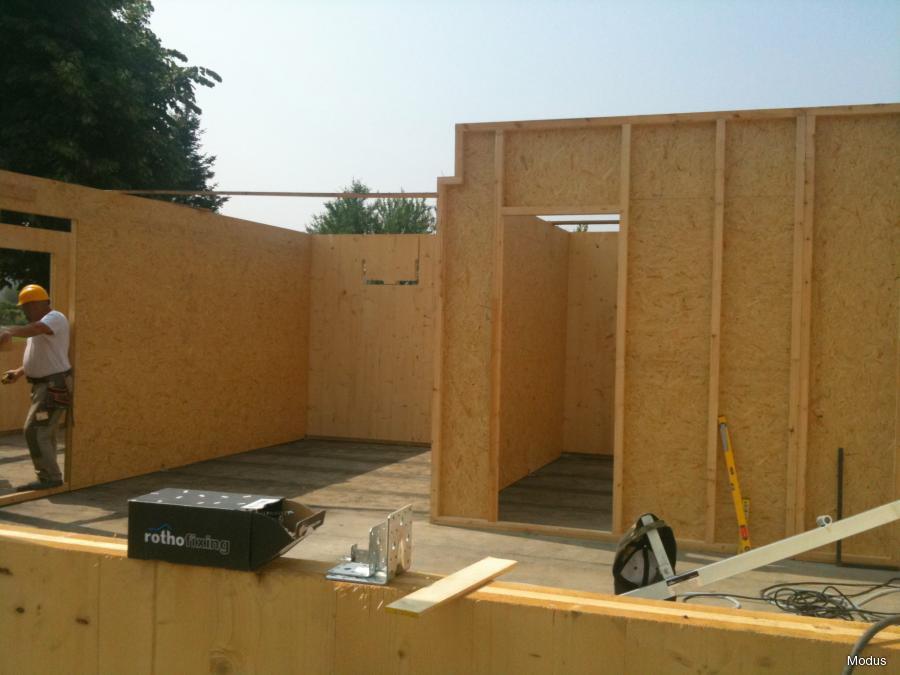 Case prefabbricate in legno  FDSA