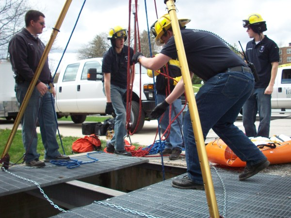 Confined space rescue - Fire Disaster and Training Consultants