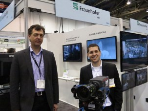 Siegfried Foessel of Fraunhofer on 3D cam with depth cam