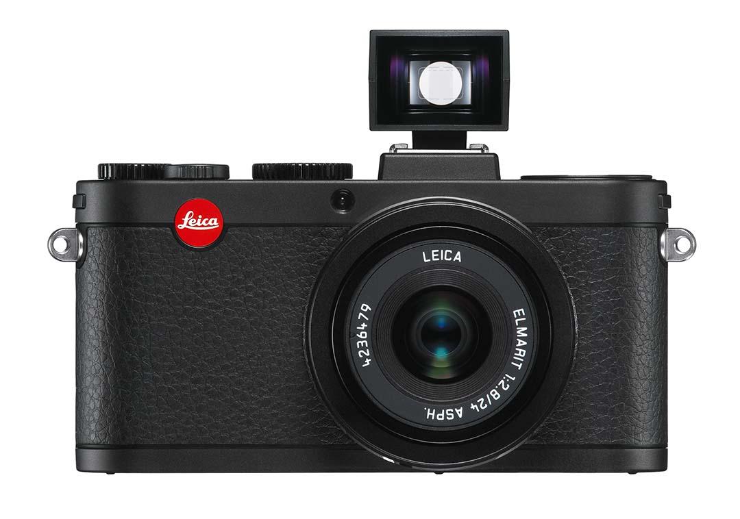 leica X2 Black front viewfinder