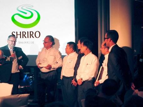 Shriro Group receiving Carl Zeiss Award