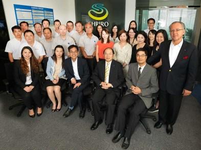 Shriro's Hong Kong team