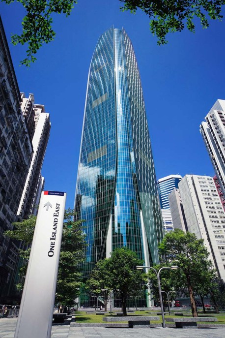 Shriro Hong Kong headquarters at One Island East