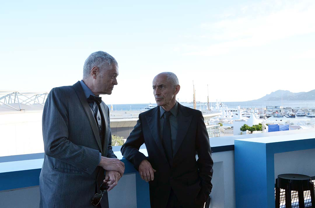 L-R: Pierre-William Glenn, AFC, President of CST, with Philippe Rousselot, ASC, AFC.