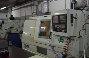 CNC machines shape the parts