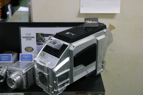 Highspeed camera CNC milled from solid aluminum block