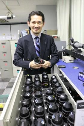 Arato Ogura of ZEISS in the Sanwa ZEISS area
