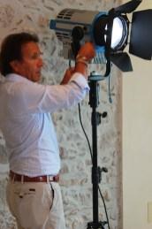 ARRI ITALIA General manager Antonio Cazzaniga during a technical workshop