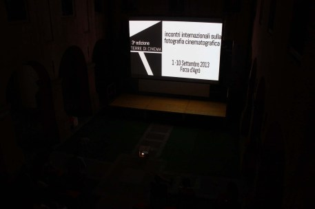 Night screening at Terre di Cinema 2013