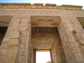 Luxor hieroglyphics