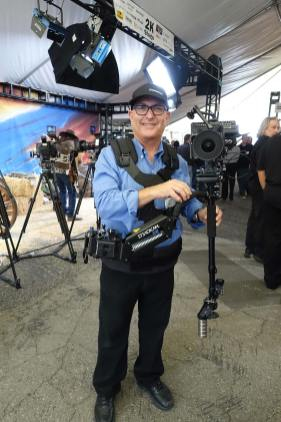 Mark with Steadicam