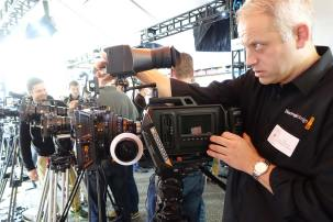 Tor Rolf Johansen with Blackmagic URSA