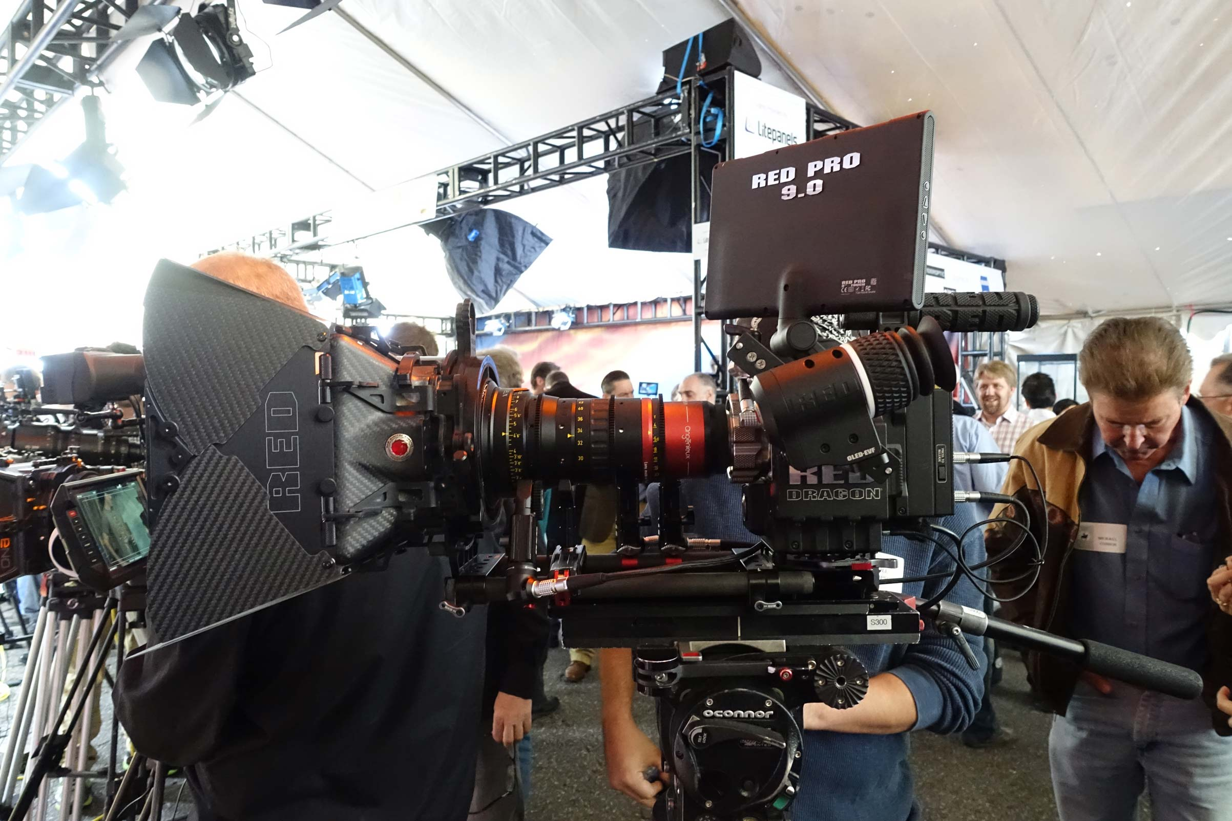 RED Dragon with new Angenieux 30-72 Anamorphic