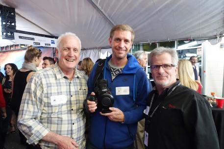 Gil Hubbs, ASC, Cary Hubbs, Canon's Tim Smith