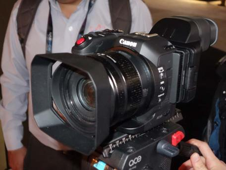 Canon shrinking 4K camera