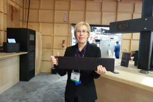 Sarah Priestnall with Media Vault removable (and secure) storage