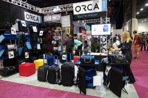 New ORCA bags for cameras, audio, rolling, backback, shoulder